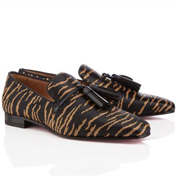 Christian Louboutin Daddy Loafers Brown