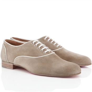 Christian Louboutin Alfred Loafers Taupe
