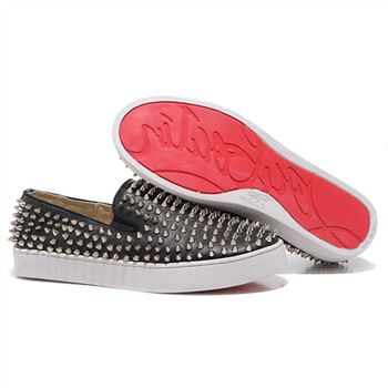 Christian Louboutin Roller Boat Loafers Black