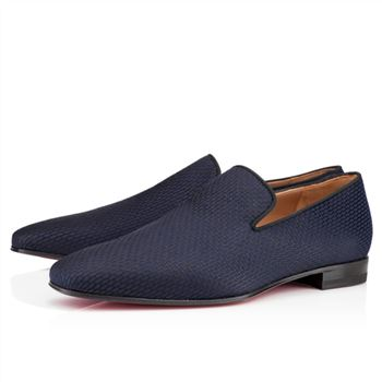 Christian Louboutin Dandy Loafers Navy