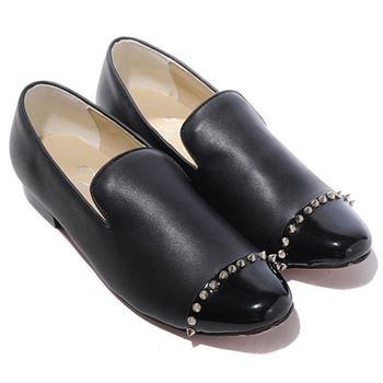 Christian Louboutin Rollerboy Loafers Black