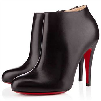 Christian Louboutin Belle 100mm Ankle Boots Black