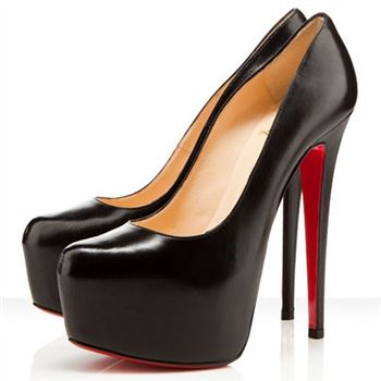 Christian Louboutin Daffodile 160mm Platforms Black
