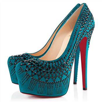 Christian Louboutin Decorapump 160mm Pumps Peacock