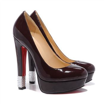 Christian Louboutin Embellished 140mm Pumps Red