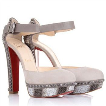 Christian Louboutin Luxura 140mm Pumps Beige