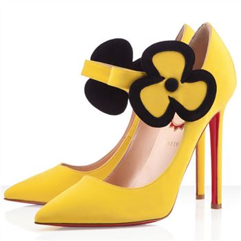 Christian Louboutin Pensee 120mm Mary Jane Pumps Canari