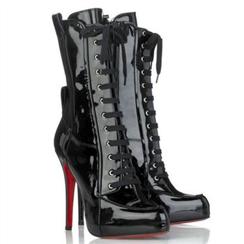 Christian Louboutin Avedere 120mm Boots Black